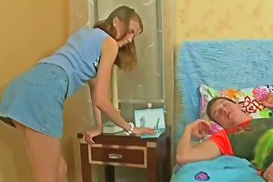 Russian Girl Wakes Him Up Upornia Com