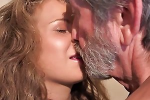 18 Curly Cutie Teen And 76 Old Granppa Nasty 69 Hd Porn 6b