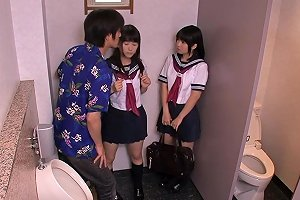 Petite Japanese Schoolgirls Fuck In Bathroom Free Porn 7a